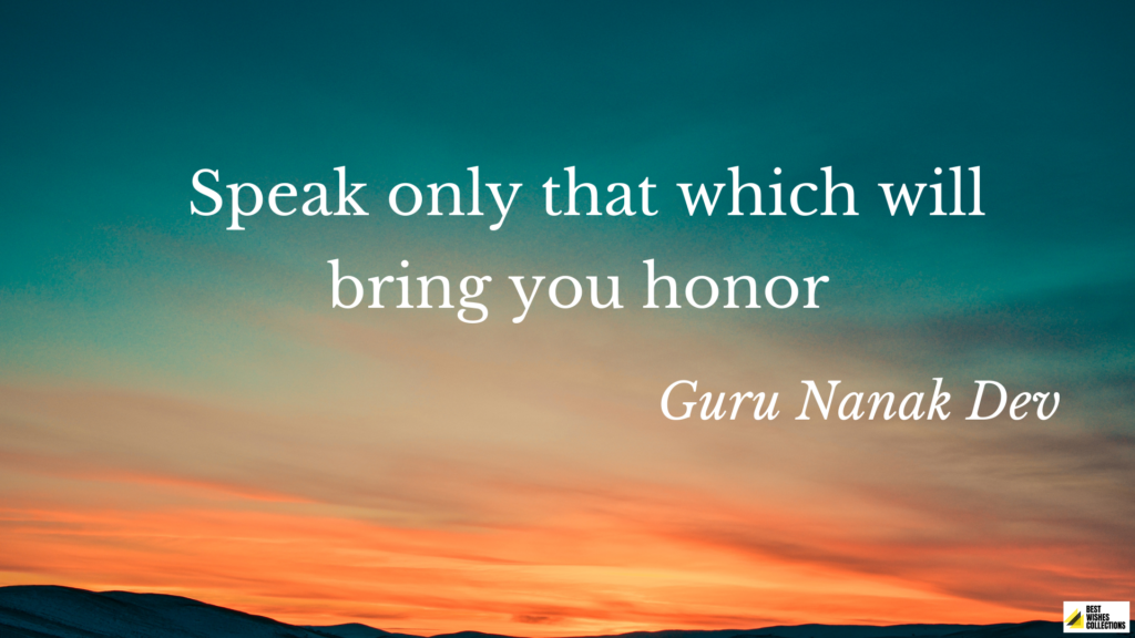 Motivational Quotes By Guru Nanak JI