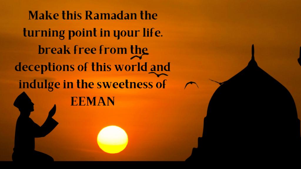 Sweet ramadan wishes