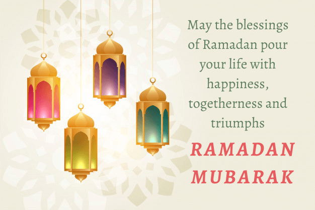 Ramadan Kareem Greetings in English