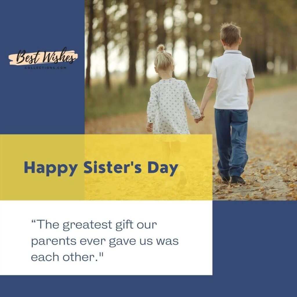 Happy sisters day images