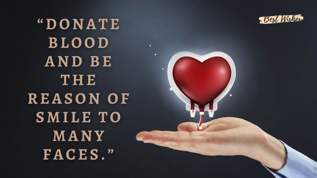 World Blood Donation Quotes
