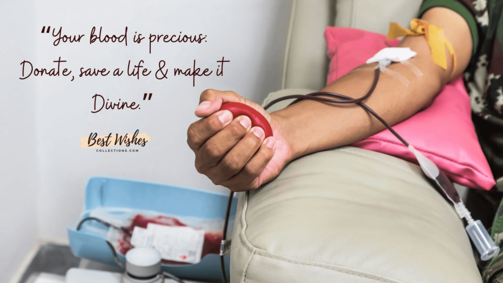 Motivational World Blood Donation Day Quotes Images