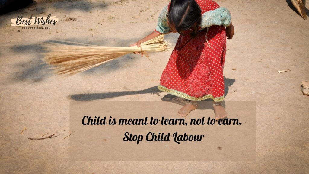 World Day Against Child Labour Images