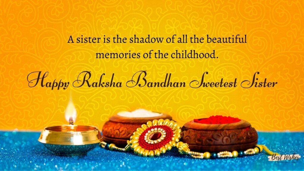 Rakshabandhan Wishes for Sisters