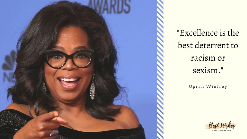 Oprah Winfrey Quote on Women's Equality