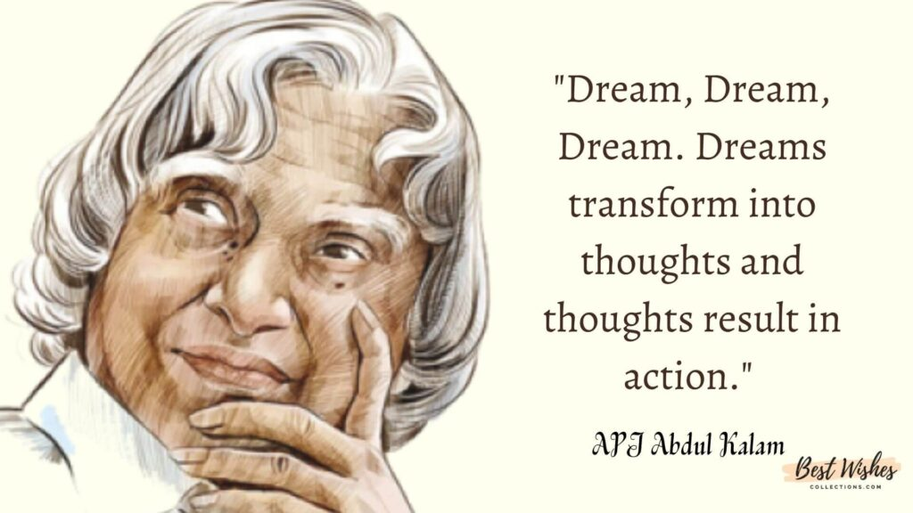 A.P.J.Abdul Kalam thoughts on Youth Day