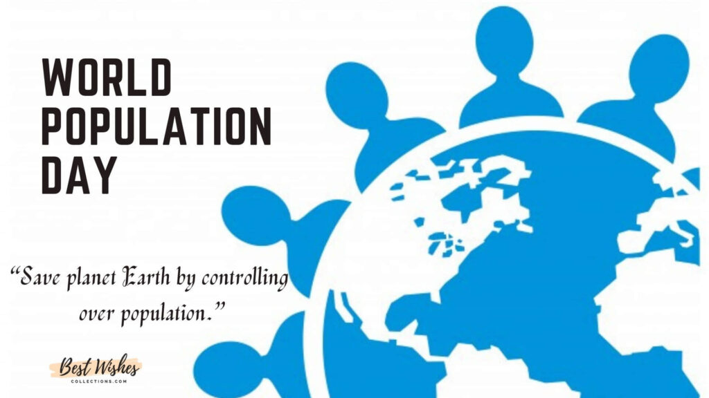 save planet earth slogan for population day