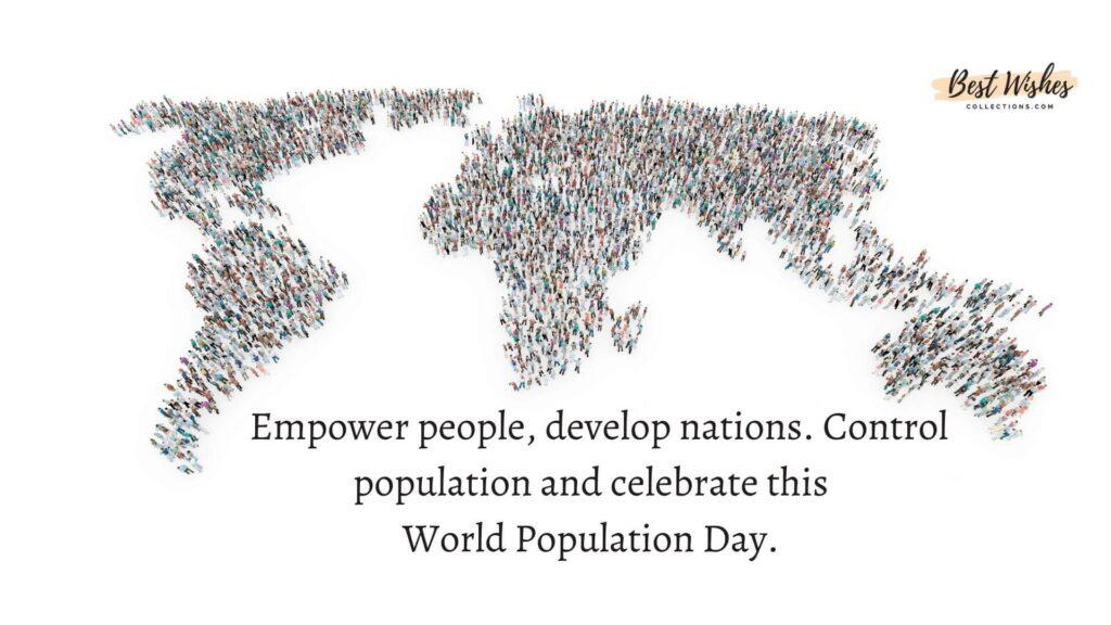 World Population day Whatsapp status