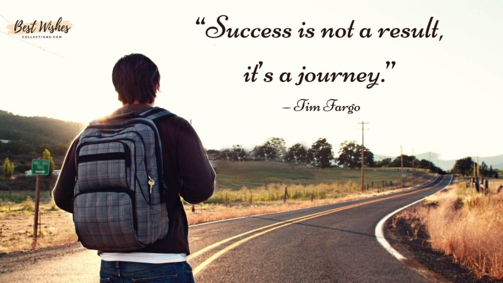 Journey Quotes by Tim Fargo